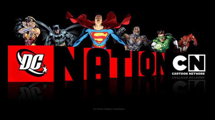 DC Nation on Cartoon Network