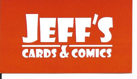 Jeffs Cards & Comics