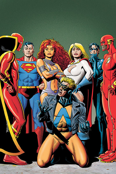 The League of Titans & Animal Man