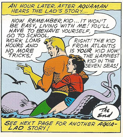 Aqualad with Aquaman
