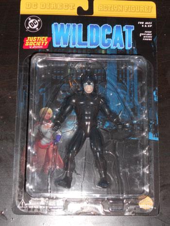 Wildcat action figure
