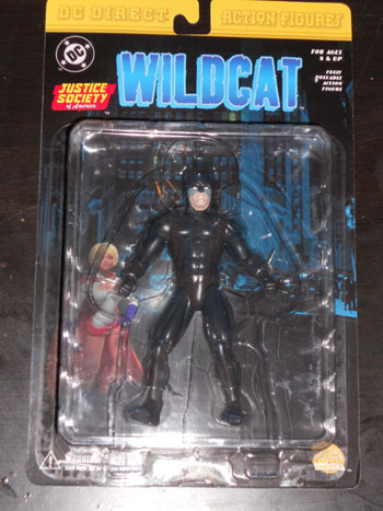 Wildcat action figure