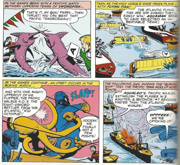 Aquaman's Undersea Olympics!