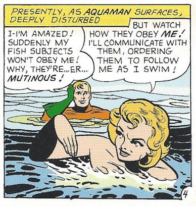 "The ""Aqua Queen"" shows up Aquaman time and again!"