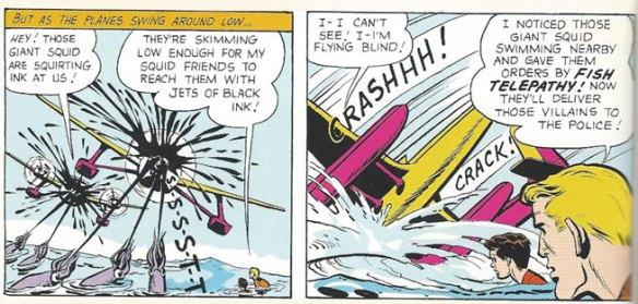 Smugglers taken down by Aquaman's Fish Telepathy