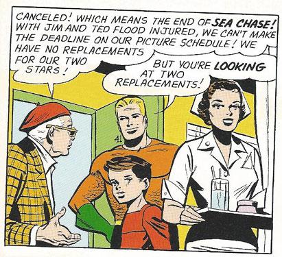 Aquaman, Jim Flood wannabe!