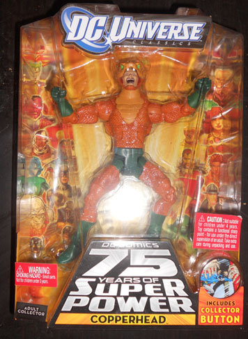 Copperhead Mattel DCU Action Figure