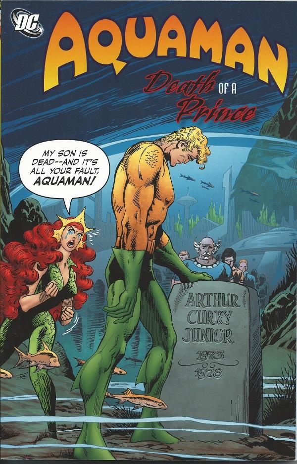Aquaman Death of a Prince