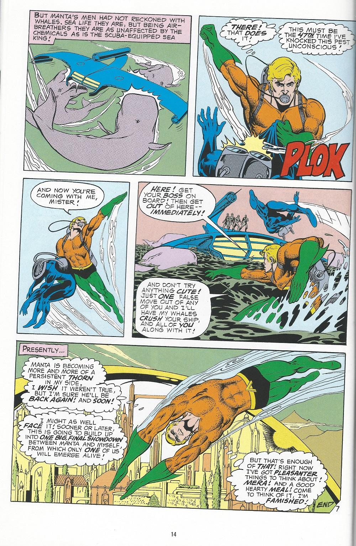 Aquaman Frees Black Manta--whoops!