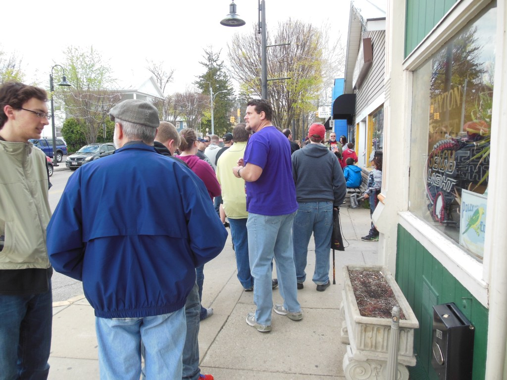 This was the line at Super-Fly on FCBD!