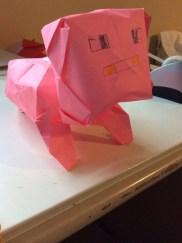 2nd: Moochael's 3d Pig