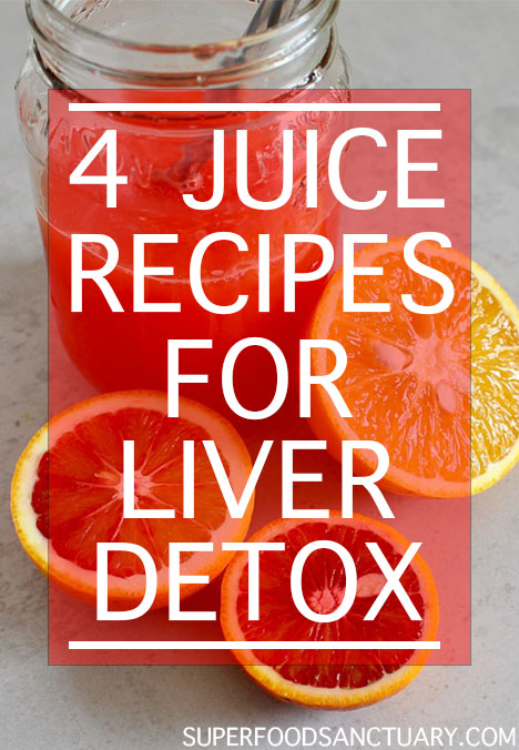 Below we share 4 juice recipes to detoxify the liver. There are several reasons why you need juice cleansing for your liver, as we will investigate below!