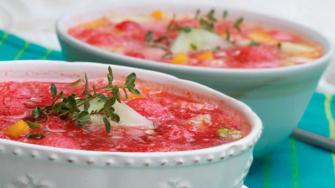 SuperFood Soup Recipe: Cold Fruit Soup Recipe
