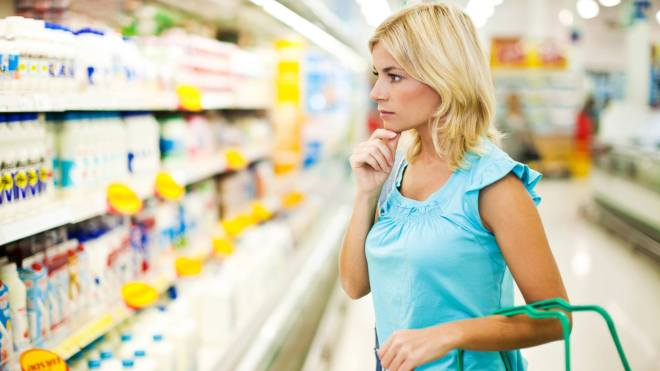 low fat food labels