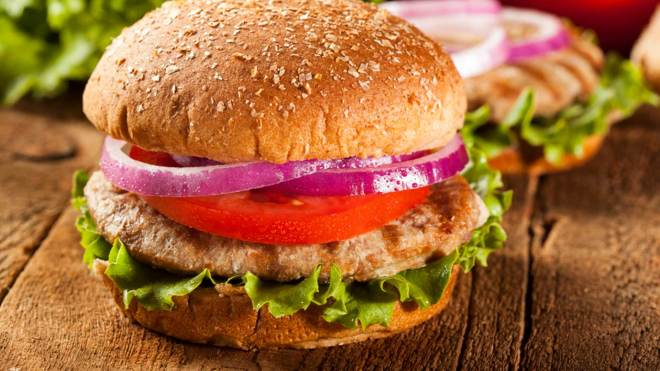 SuperFoods Yummy Turkey Burger Recipe
