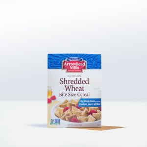 Arrowhead Mills-Shredded WheatBite Size Cereal