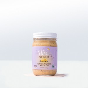 Bliss Nut Butters-Chia Seed Peanut Butter Bliss