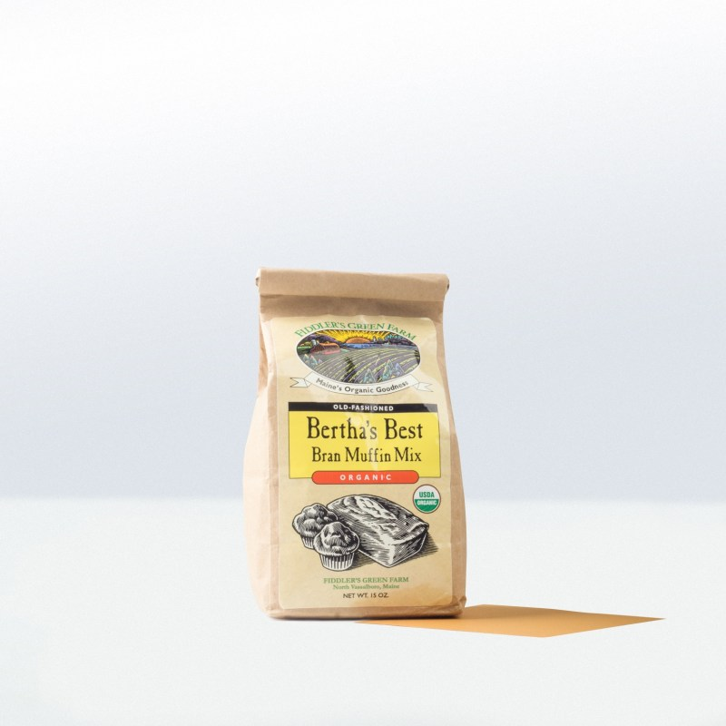 Fiddler's Green Maine-Old-Fashioned Bertha'sBest Bran Muffin Mix