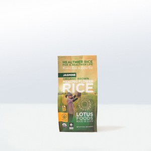 Lotus Foods-Organic Brown Mekong FlowerJasmine Rice