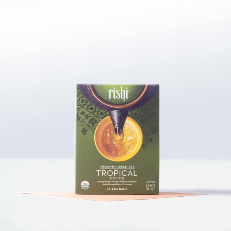 Rishi-Organic Tropical Green Tea