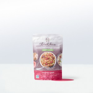 Tee Chia-sustained energy cerealcranberry apple