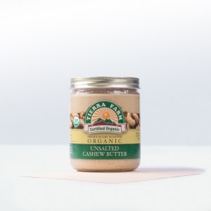 Tierra Farm-Dry Roasted Organic UnsaltedCashew Butter