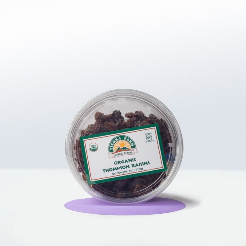 Tierra Farm-Organic Dried Thompson Raisins