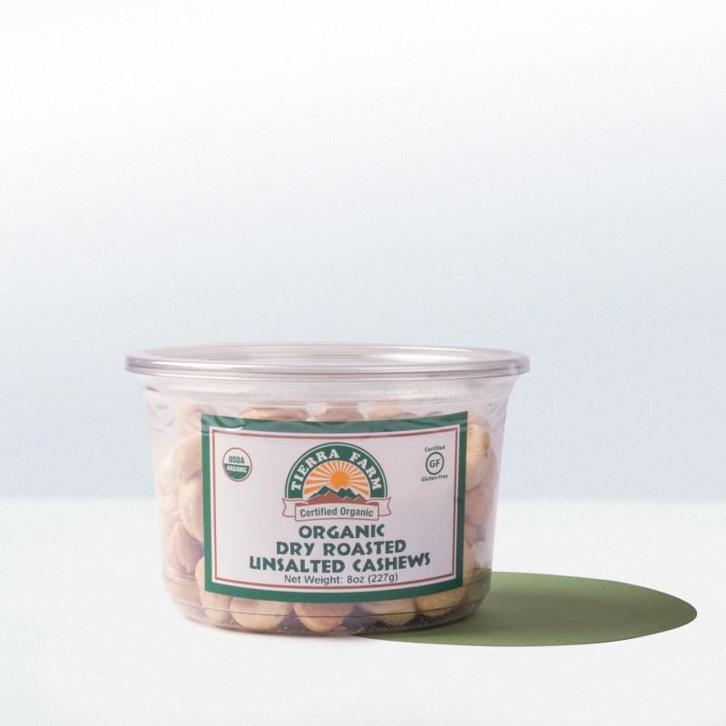 Tierra Farm-Organic Dry RoastedUnsalted Cashews