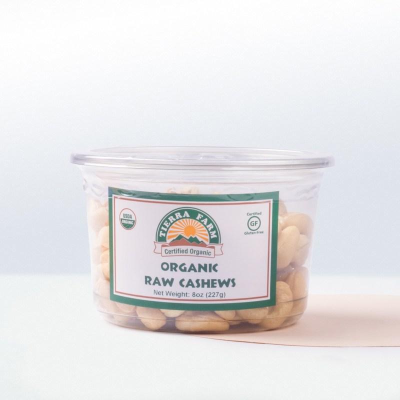 Tierra Farm-Organic Raw Cashews