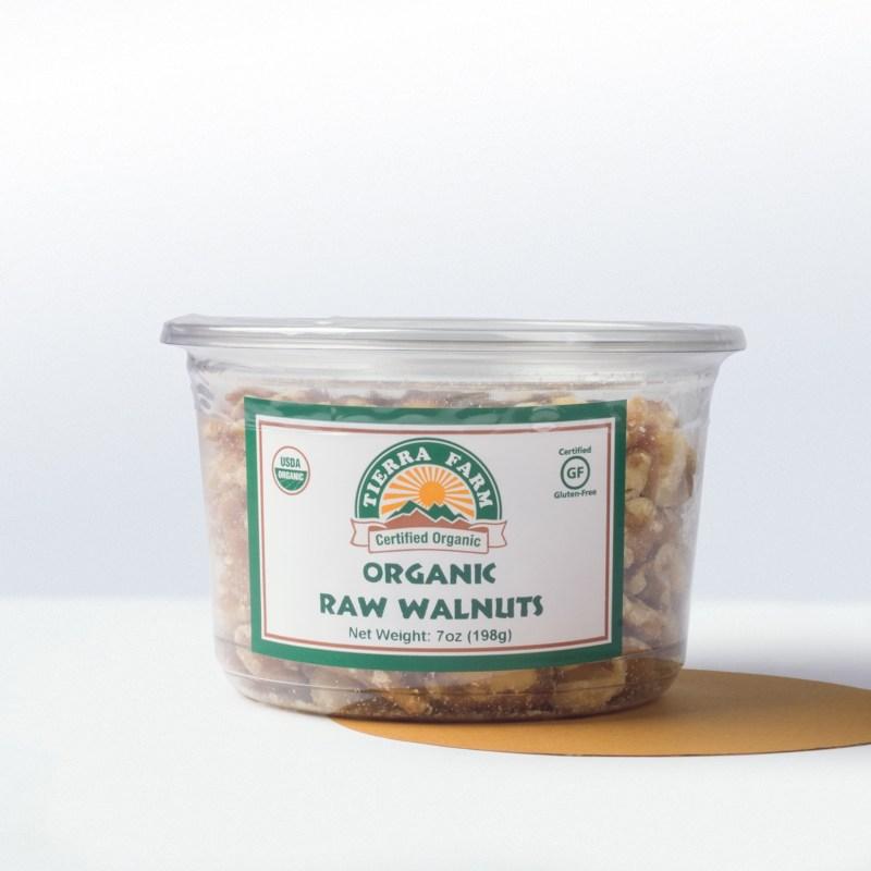 Tierra Farm-Organic Raw Walnuts