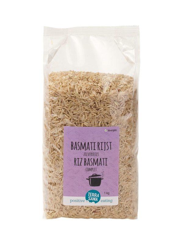 Basmati Rijst bruin (zilvervlies rijst)