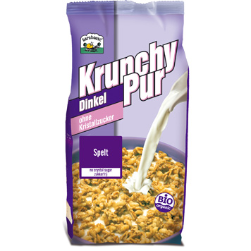 Krunchy pur spelt (zonder toegevoegd suiker)