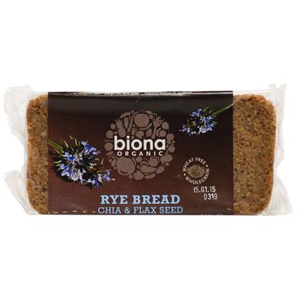 Rye Chia and Flax Bread Organic