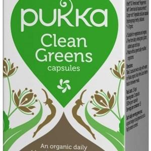 Pukka Clean Greens Capsules 60st