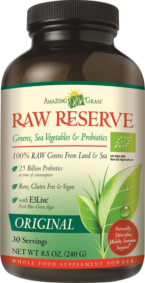 Amazing Grass Raw Reserve Original Poeder