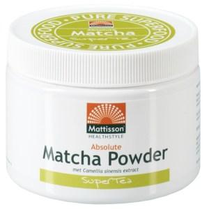 Mattisson HealthStyle Matcha Poeder