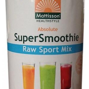 Mattisson HealthStyle SuperSmoothie Raw Sport Mix