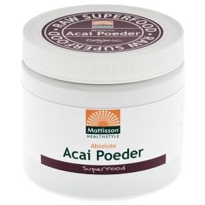 Absolute Acai Poeder Bio gezond?