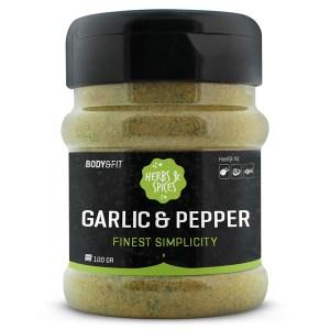 Herbs & Spices - 1 pot - Garlic & Pepper 120 gram