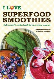 I love superfood smoothies. met ruim 100 snelle