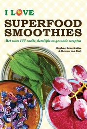 I love superfood smoothies. met ruim 100 snelle
