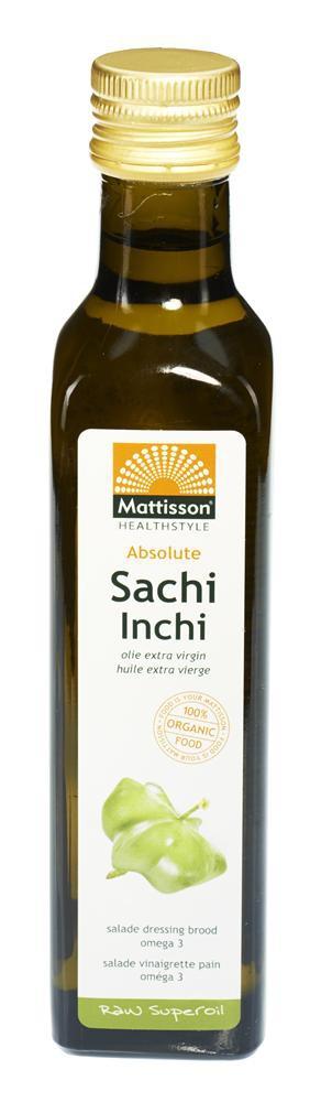 Mattisson HealthStyle Absolute Sacha Inchi Olie Extra Virgin Raw
