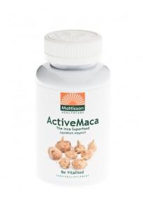Mattisson HealthStyle Active Maca 750mg Capsules 90st gezond?