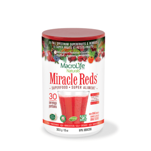 Miracle Reds - 30 servings gezond?