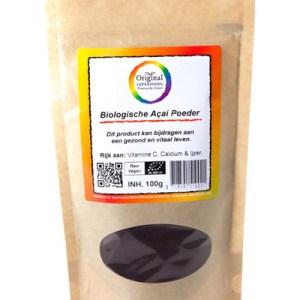 Original Superfoods Biologische Acaipoeder 100 Gram