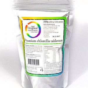Original Superfoods Chlorella Tabletten 250 Gram gezond?
