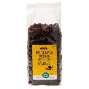 Raw Rozijnen Blue Thompson - 500 gram gezond?