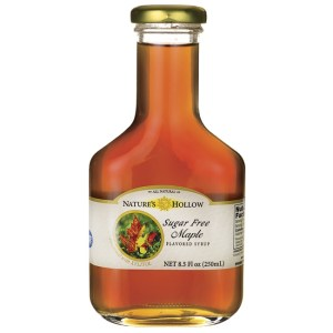 Sugar Free Syrup - Nature's Hollow - 1 fles - Maple Flavored gezond?