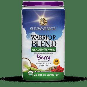 Sunwarrior Biologische Blend Proteïne Berry 1 KG gezond?