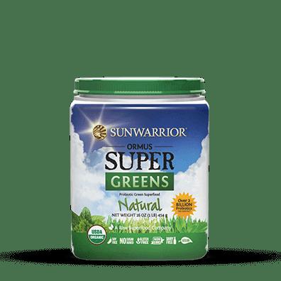 Sunwarrior Biologische Ormus Supergreens Natural 454 Gram gezond?